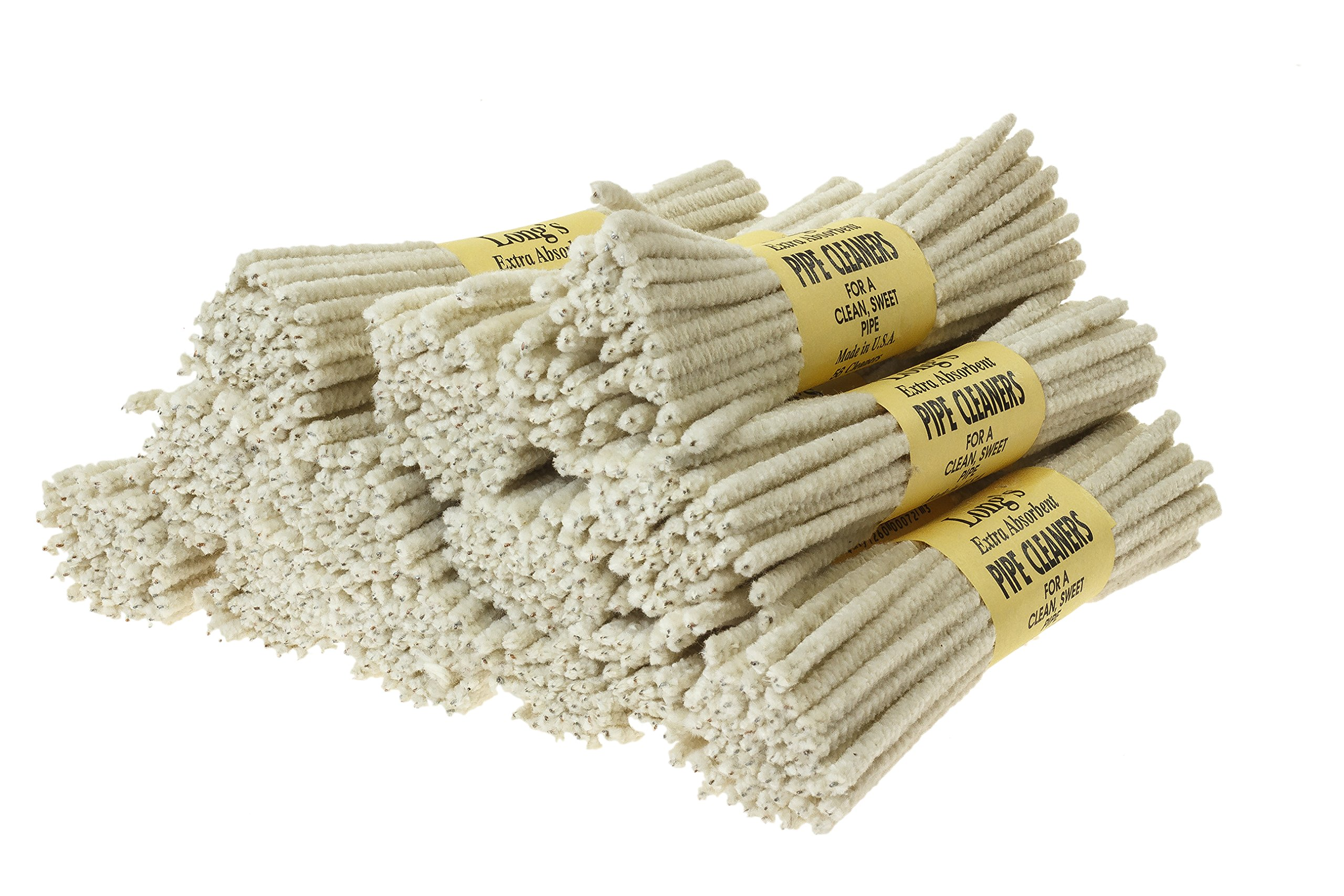 BJ Long Extra Absorbent Pipe Cleaners 56 Count - 12 Pack TP-1473
