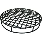 Walden Fire Pit Grate Round 29.5'' Diameter - Premium Heavy Duty Steel Grate for Outdoor Firepits - Above Ground Fire Grate