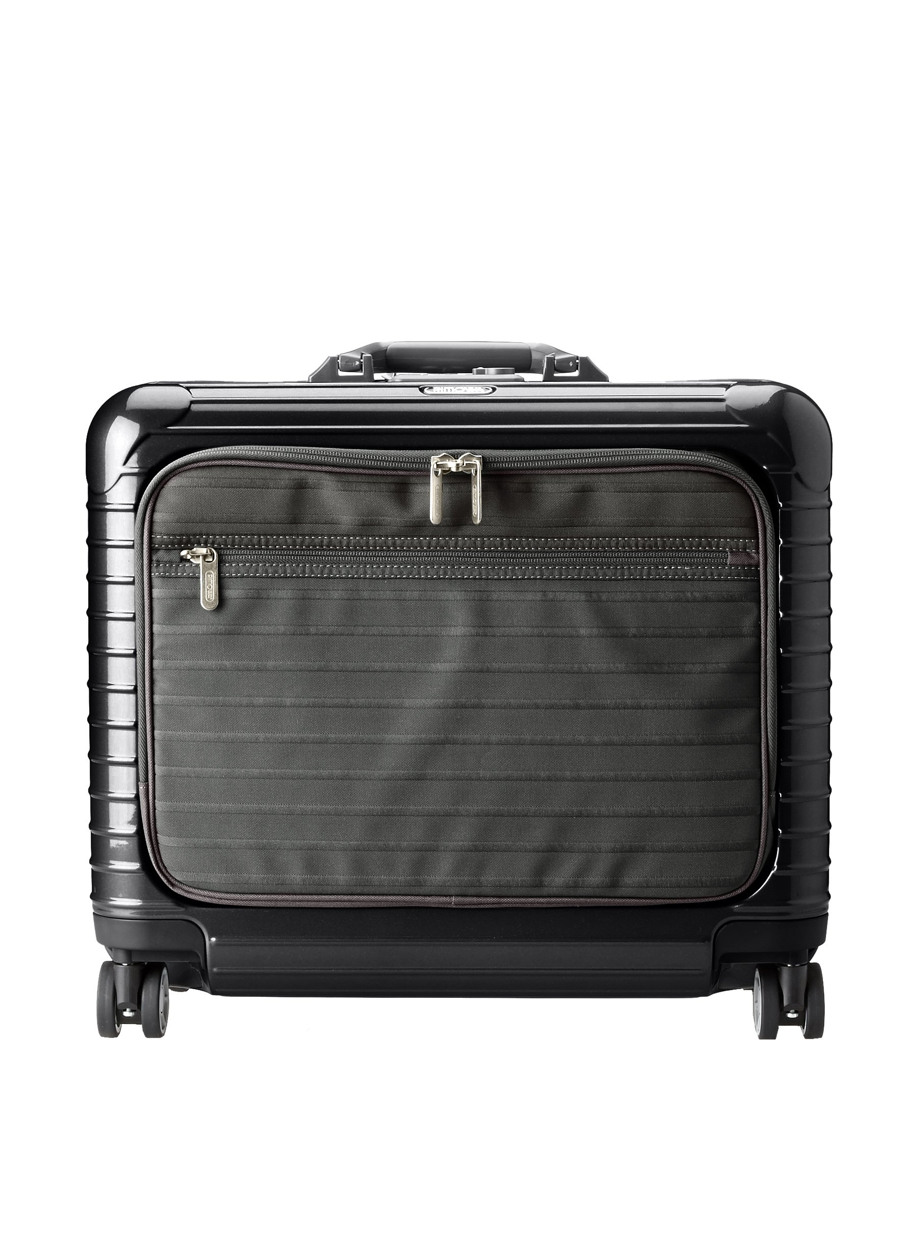 Rimowa Salsa Deluxe Hybrid Business Multiwheel 42L Spinner Luggage, Black