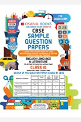 Oswaal CBSE Sample Question Papers Class 10 English Language and Literature (For March 2020 Exam) Kindle Edition