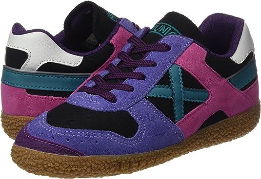 Munich Mini 1358, Zapatillas de Senderismo Unisex niños, (Multicolor), 34 EU: Amazon.es: Zapatos y complementos