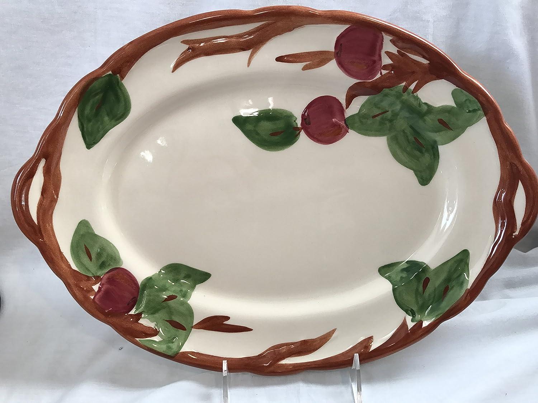 "Franciscan Apple Platter 14"", Franciscan Apple Platter Made in England 1996, Johnson Brothers Franciscan Apple"