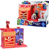 PJ Masks Nighttime Micros Trap & Escape Playset, Owlette vs Luna Girl
