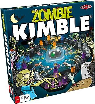 Tactic Zombie Kimble Niños y Adultos Juego de Mesa de Carreras - Juego de Tablero (Juego de Mesa de Carreras, Niños y Adultos, 15 min, Niño, 5 año(s), 99 año(s)): Tactic: Amazon.es: