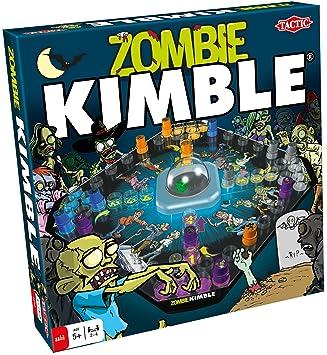 Tactic Zombie Kimble Ninos Y Adultos Juego De Mesa De Carreras