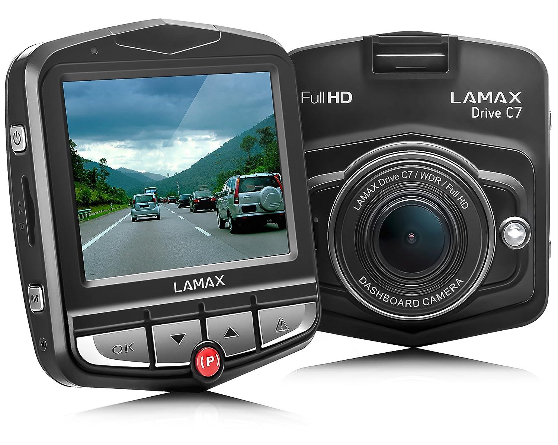 LAMAX DRIVE C7 Dashcam Autokamera Full HD 1080p mit 150/° Aufnahmewinkel 24h Parkw/ächter und G-Sensor