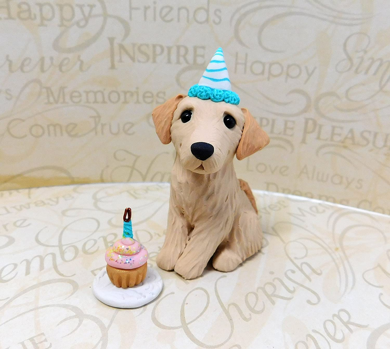 Pleasing Amazon Com Golden Retriever Birthday Party Golden Retriever Art Funny Birthday Cards Online Alyptdamsfinfo