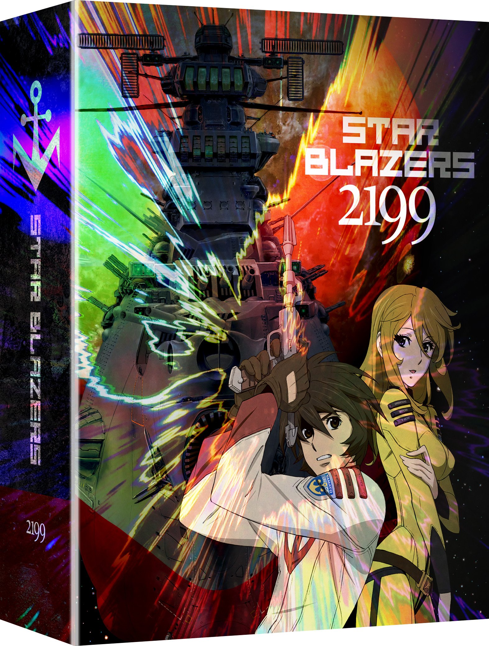 Blu-ray : Star Blazers: Space Battleship Yamato 2199 - Part One (With DVD, Limited Edition, Boxed Set, Subtitled, Dubbed)
