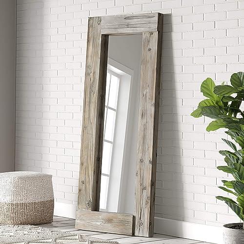Barnyard Designs 24″ x 58″ Decorative Wall or Floor Mirror