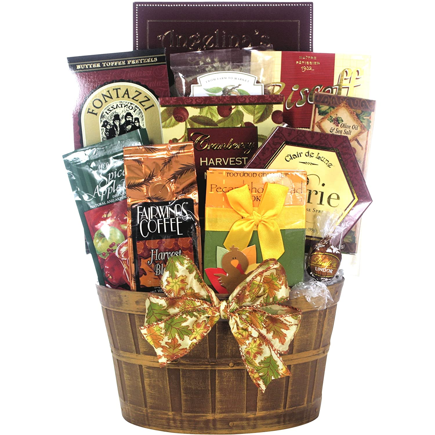 Amazon.com : Great Arrivals Gourmet Thanksgiving Gift Basket ...
