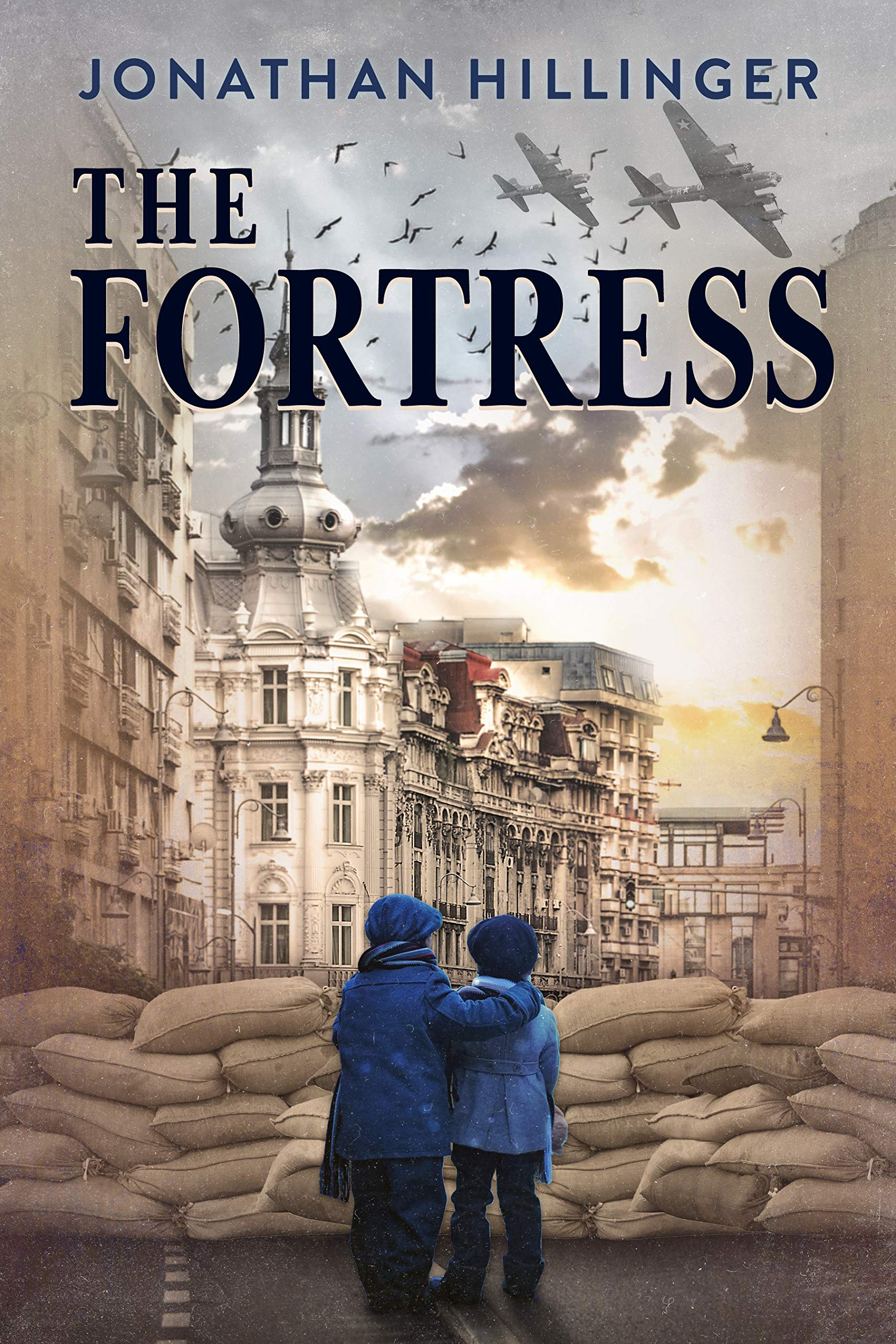 The Fortress: A Historical Fiction Novel Based On A WW2 True Story por Jonathan Hillinger
