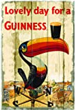 Guinness Toucan Wallart Wooden