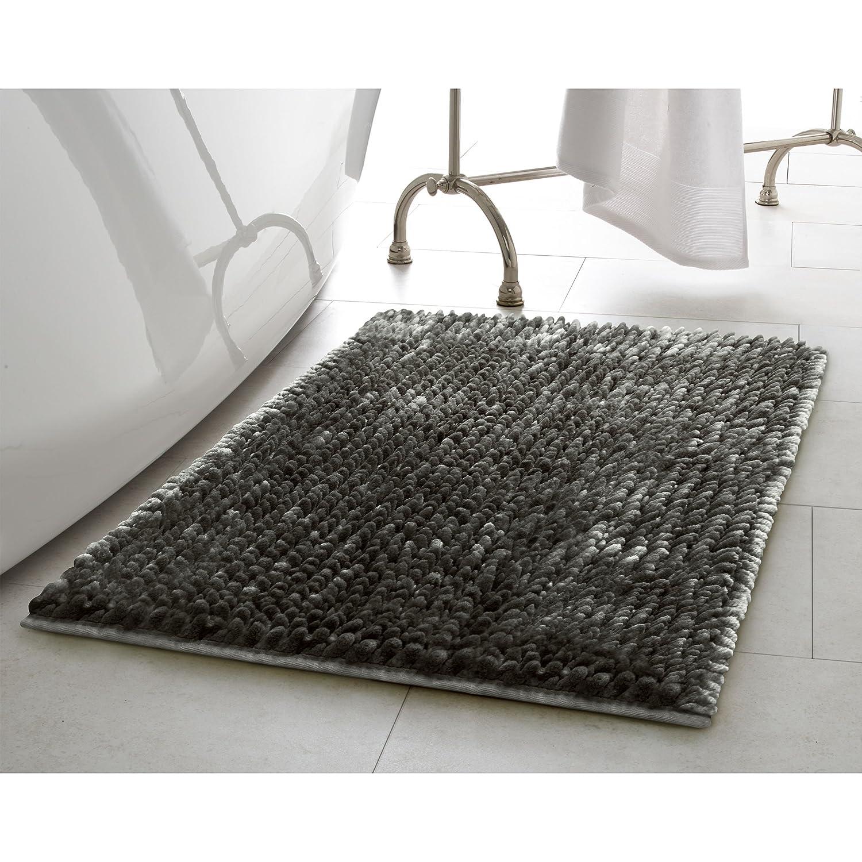 Laura Ashley Butter Chenille Bath Mat 17 in x 24 in Blush