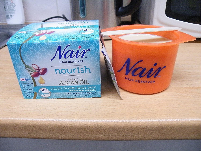 Nair Argan Oil Salon Divine Body Wax Bye Pain Formula Amazon Soap Ampamp Glory Irresistibubble Gift Set Kitchen Home