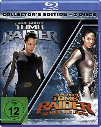 Amazon Com Tomb Raider 1 2 Collectors Edition Blu Ray Region