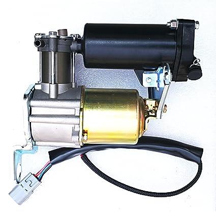 OEM Quality Air Suspension Compressor with DRYER for Lexus GX470 4.7L Toyota Land Cruiser Prado