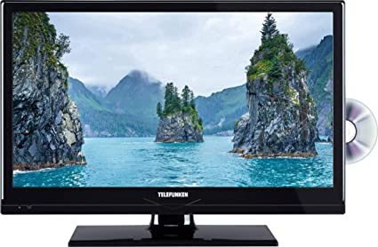 Telefunken LED-TV 51 cm 20 Zoll B20H342A EEK A+ DVB-T2, DVB-C, DVB-S, HD ready, DVD-Player, CI+ Sch: Amazon.es: Electrónica