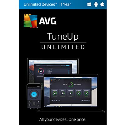 AVG TuneUp 2017 Unlimited 1 Year [Online Code]