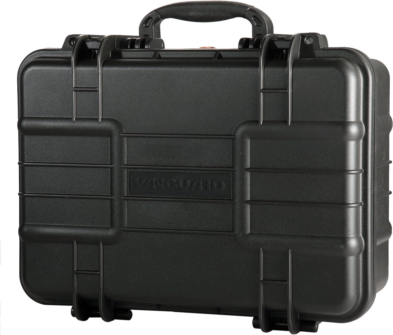 51500 mm Nero Vanguard Valigia Rigida con Interno in Schiuma Personalizzabile 36 litri