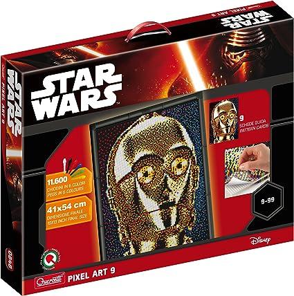 Amazoncom Quercetti 0848 Pixel Art Star Wars 9 Tav C 39o