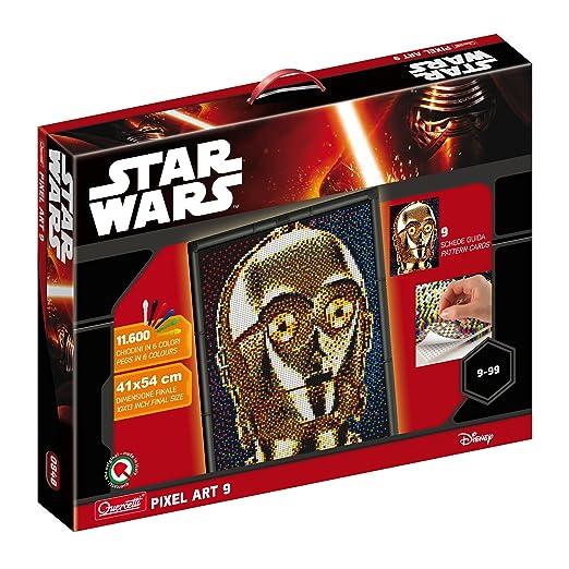Quercetti 0848 Pixel Art Star Wars 9 TAV c-39o mitras: Amazon.es ...