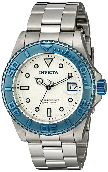 Invicta 12835 - Reloj de cuarzo unisex, color plata