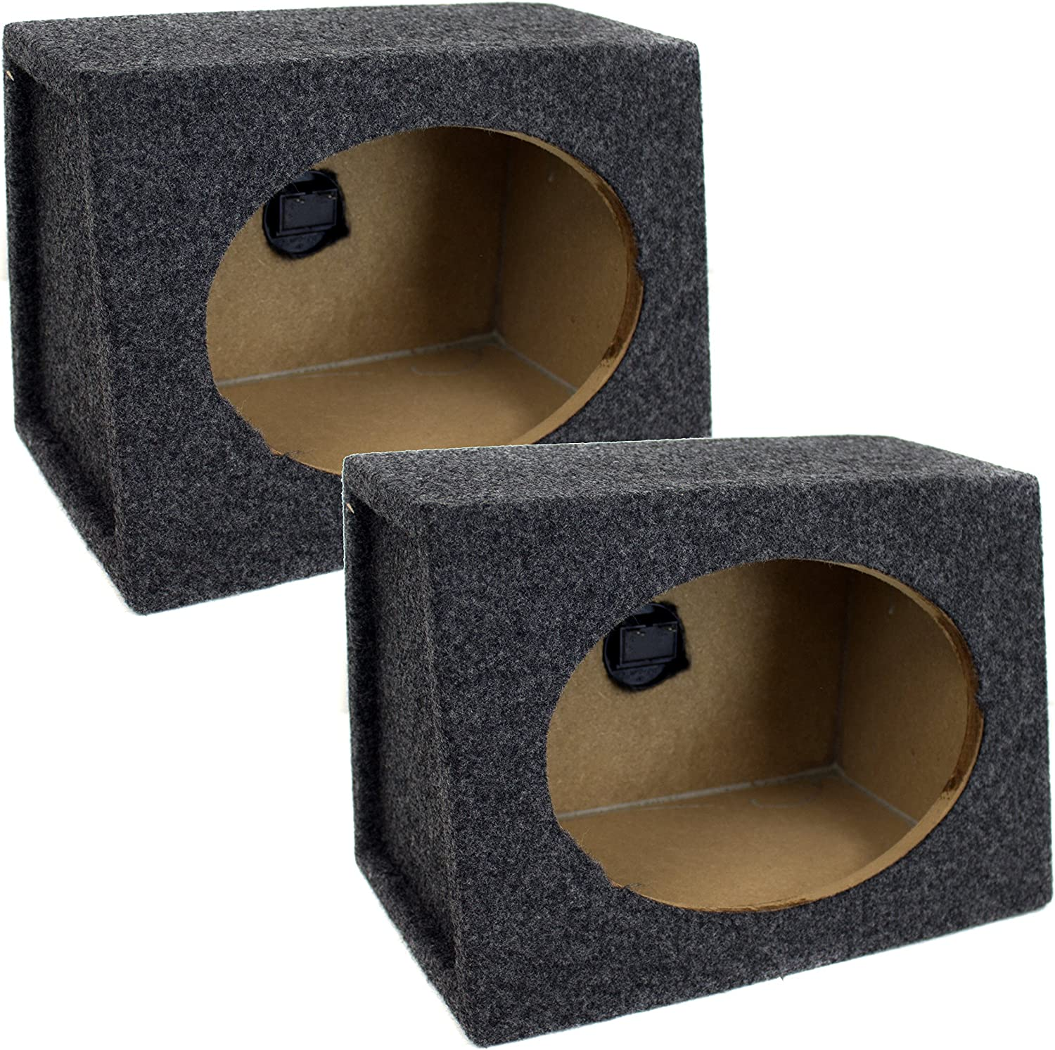 QPower Angled Style 6x9 Speaker Box Enclosures