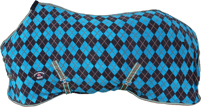 CHALLENGER 80 Horse Sheet Polar Fleece Cooler Exercise Blanket Wicks Moisture 4390
