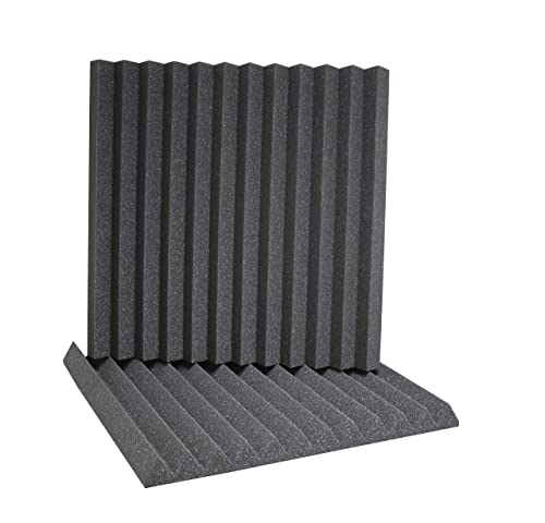 ATS Wedge Foam Acoustic Panels (Charcoal)