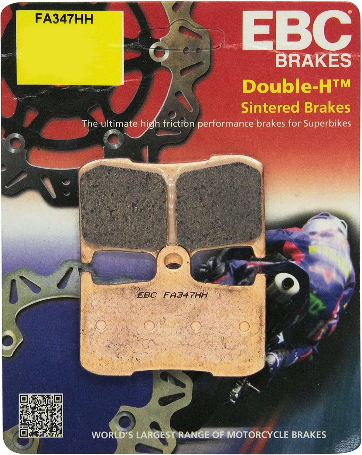EBC FA214//2 Rear Brake pads  TRIUMPH Speed Triple all models from 1997 to 2012