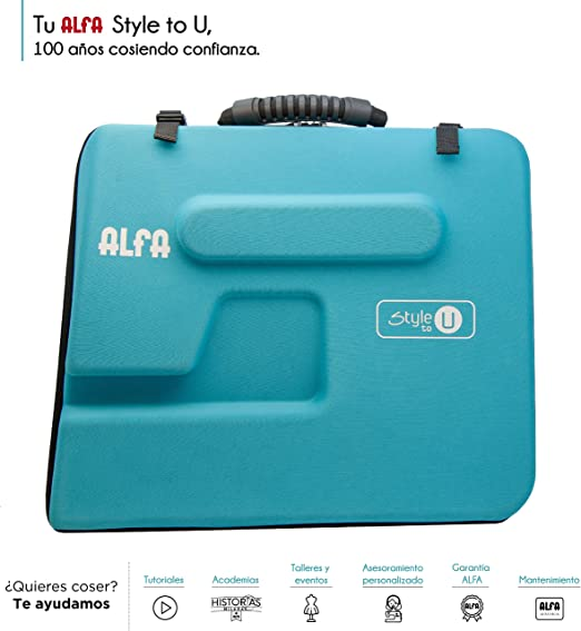 Alfa Style to You Funda para Maquina de Coser, Azul: Amazon.es: Hogar
