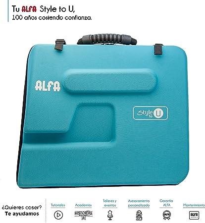 Alfa Style to You Funda para Maquina de Coser, Azul: Amazon.es: Hogar
