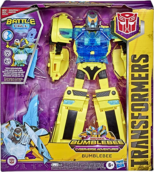 Transformers Bumblebee Cyberverse Adventures Bumblebee action figure toy for kids in package