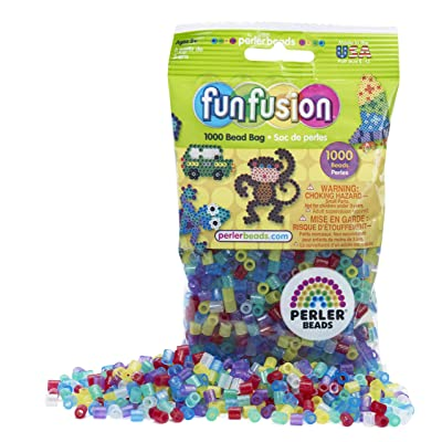 Perler Beads Glitter Mix Bead Bag (1000 Count): Toys & Games