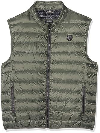 ca2169e2202d30 LERROS Große Größen Men's Herren Outdoor Weste Gilet, (Reed Green 661),  XXXL: Amazon.co.uk: Clothing