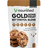 GOLD - Brown Sugar Alternative Substitute 1:1 Sugar Replacement - Monk Fruit Erythritol Sweetener for Low Carb Dieters and Di
