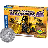 Thames & Kosmos Remote-Control Machines: Construction Vehicles | Science & Engineering Experiment Stem Kit | Build 8…