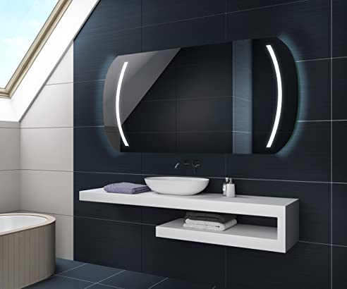 Kaltweiß 80 X 60 Cm Design Badspiegel Mit Led Beleuchtung Von