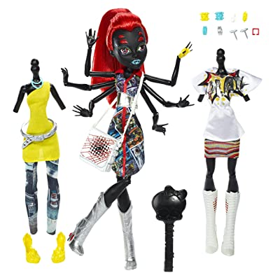 "Mattel CBX44 Monster High I Love Fashion Wydowna Spider Doll 10.5"": Toys & Games"