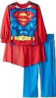 Superman Little Boys' New Supersuit 2-Piece Pajama Set
