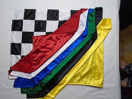 amazon com nascar sports flags set race track flags 24 inch x 30