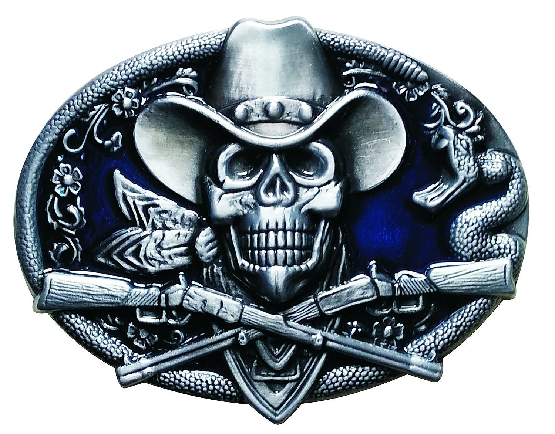 Spirit of Isis B166 Buckle Gü rtelschnalle Deathhead Cowboy