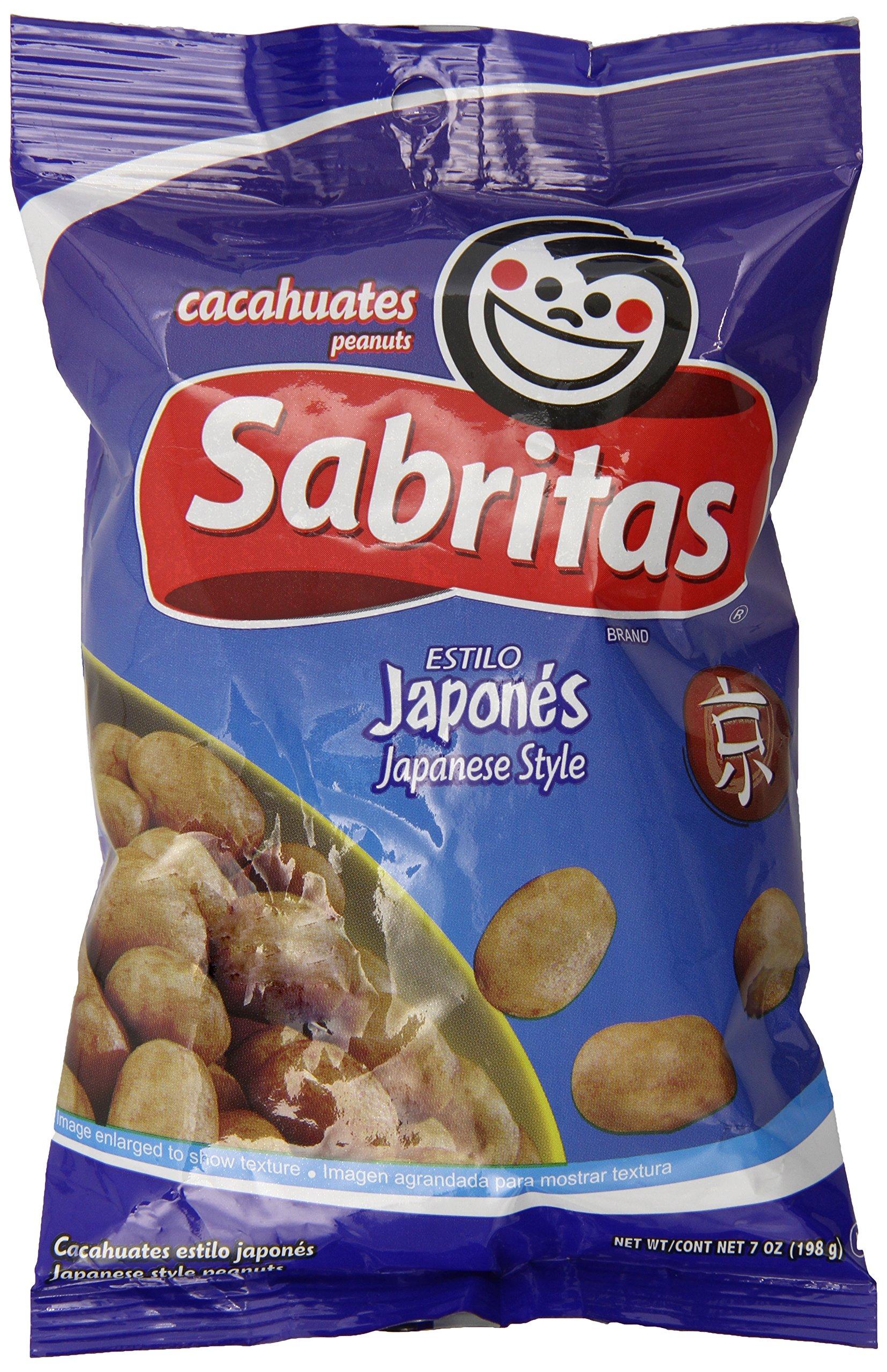 Sabritas Japanese Peanuts, 7 Ounce