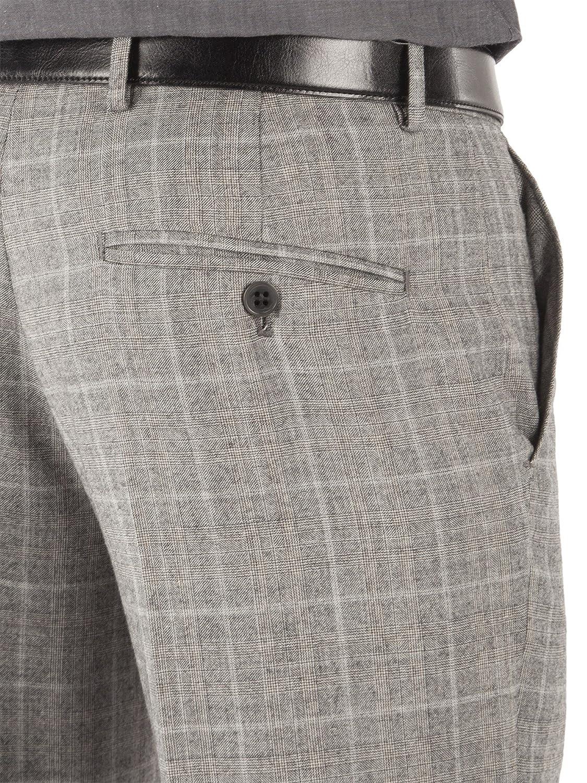 Direct Ben Sherman traje de gris de cuadros Príncipe de ...