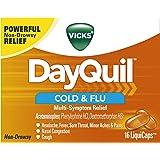 Vicks DayQuil Cough Cold and Flu Multi-Symptom Relief LiquiCaps 16 LiquiCaps