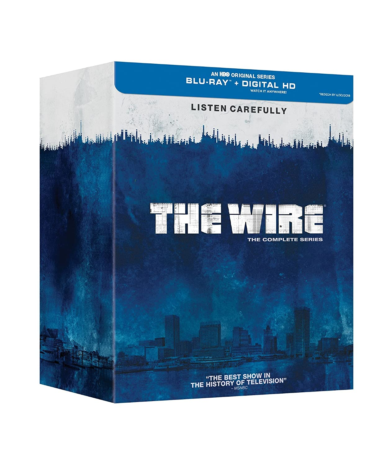 The Wire: The Complete Series [Blu-ray + Digital Copy] Various HBO 33889199 Movie