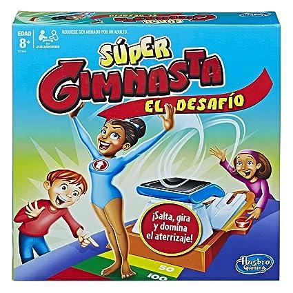 Hasbro Gaming Juego De Mesa Super Gimnasta El Desafio Amazon Com Mx