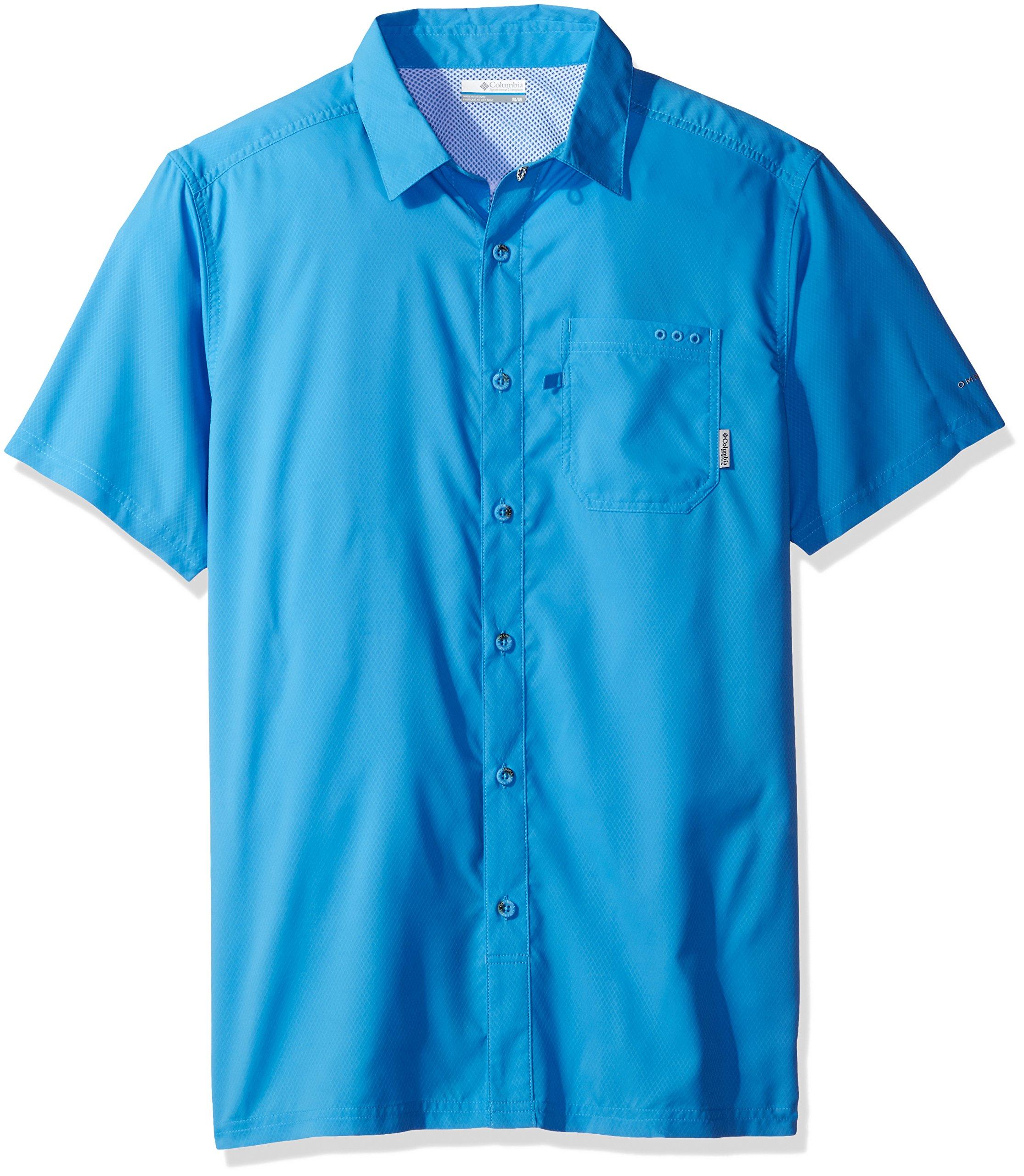 Columbia Men's Slack Tide Camp Shirt, Yacht, X-Large by Columbia