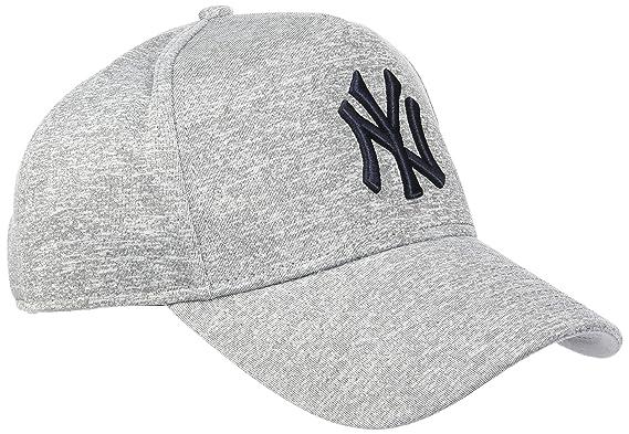 19a1426dbbd9 New Era Herren Trucker-Kappe Jersey 9Forty Tech A-Frame New York Yankees  Grau