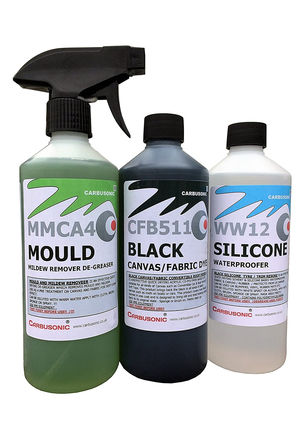 e76d40de54d5 Carbusonic Convertible roof cleaner kit